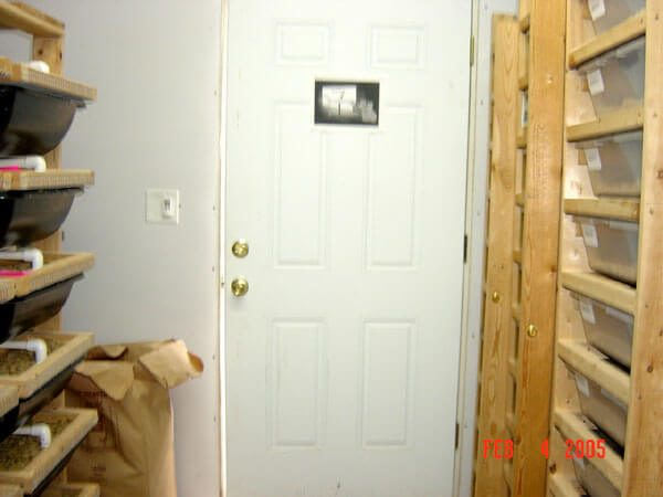 This is a pic of my original room right before the addition was built. A little bit too cramped.